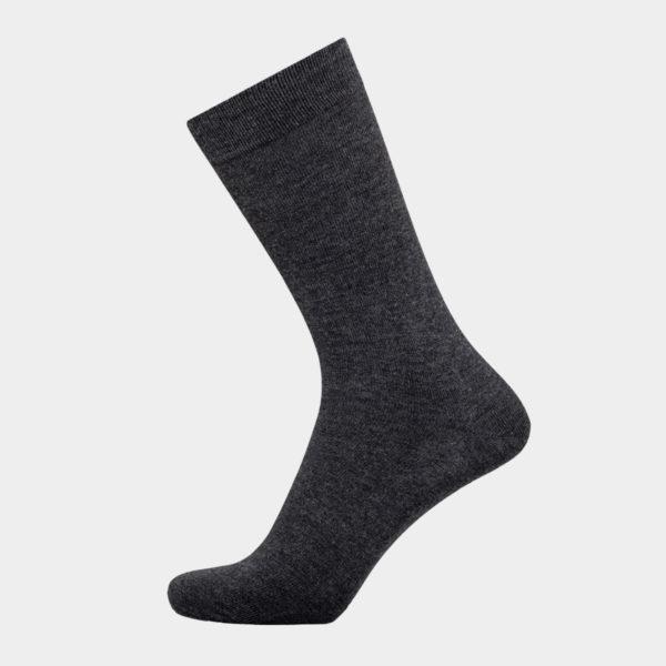 Grå sokker I bambus uden elastik
