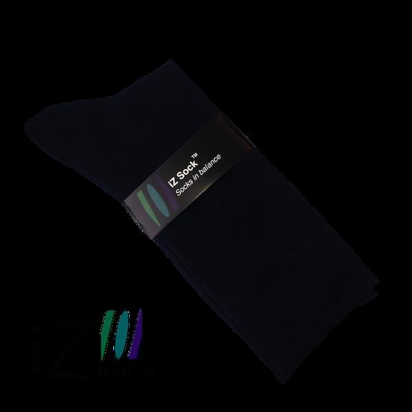 5 par iZ Sock, Sort. Bambus Strømper 48 - 50.