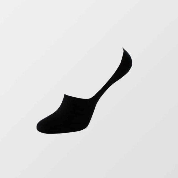 Bambus footies strømper i sort til mænd - str. 36-45 - Fra 28 kr./stk