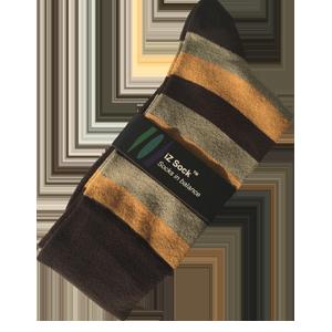 iZ Sock, Bambus modestrømper med tykke striber.