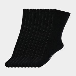 10 par sorte strømper