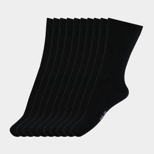 10 par sorte strømper til dame - børn fra MP