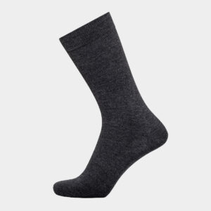 Grå sokker I bambus uden elastik til herre fra Egtved (Størrelse: 45-48)