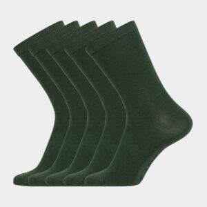 Grønne bambus strømper til damer & herre fra Frank Dandy (Størrelse: 36-40)