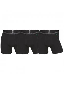 JBS 3-pak bambus underbukser i sort til herre Black L